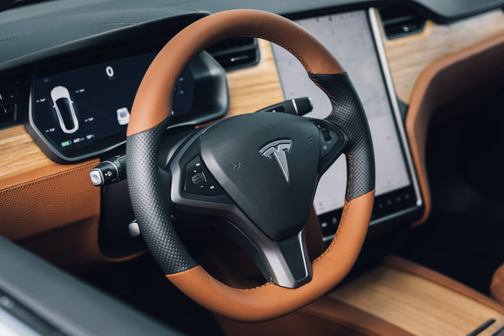 Lenoir | Custom Tesla S | Interior | Leather | Paint | Color change